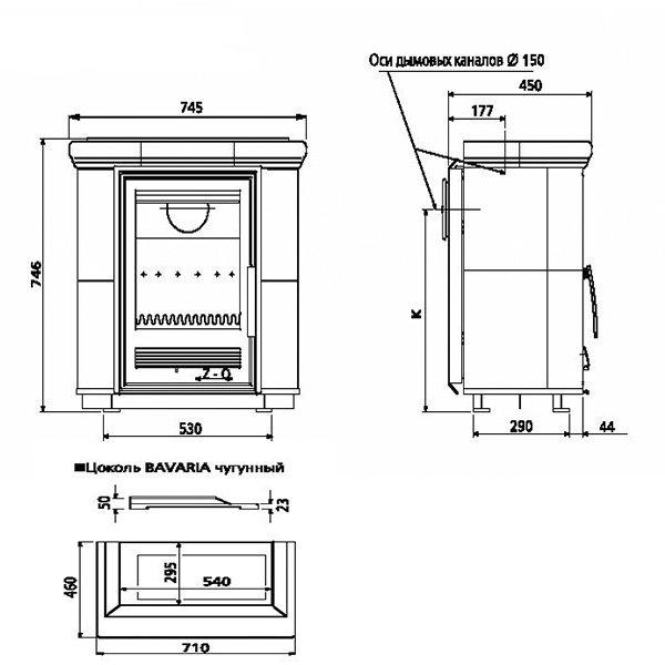 Чугунная печь с теплообменником бавария теплообменник альфа-лавал